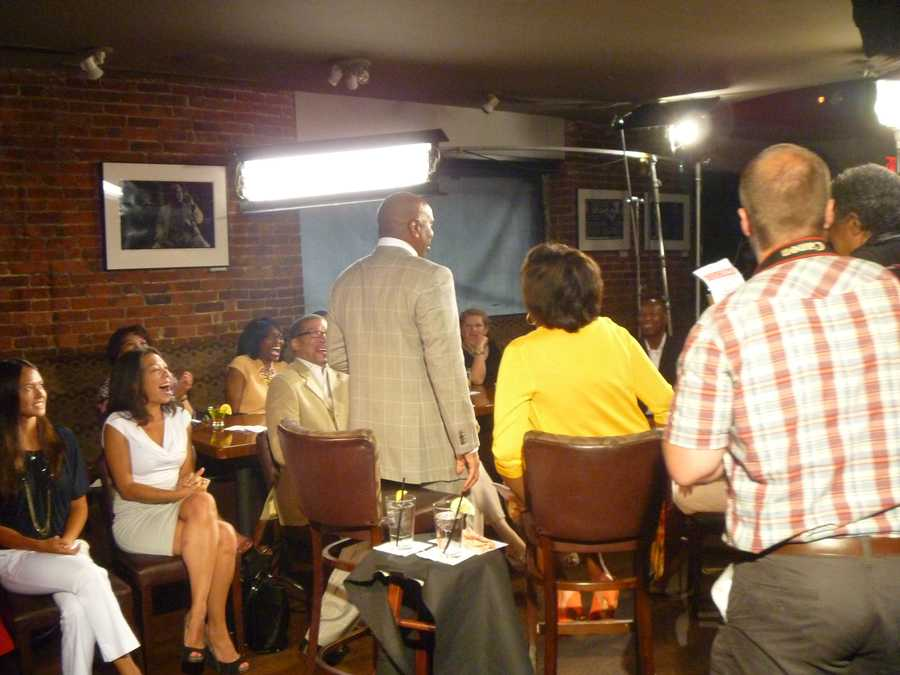 Steve Harvey sits down for his one-on-one interview with Karen Holmes Ward