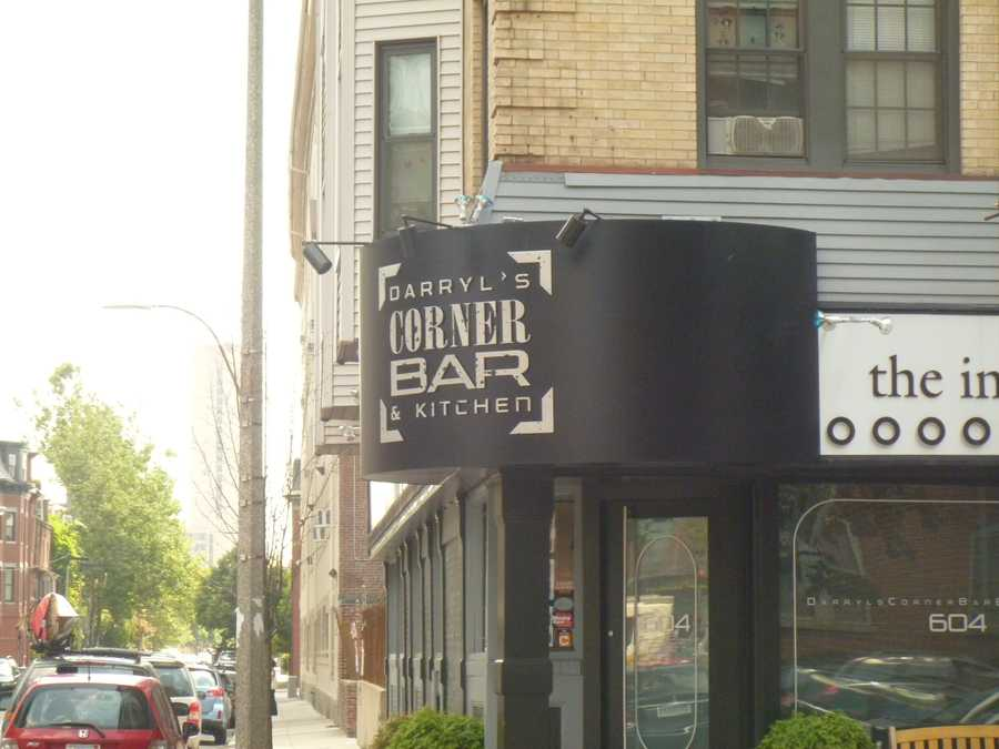 The interview took place at Darryl's Corner Bar and Kitchen in on Columbus Ave in Boston.