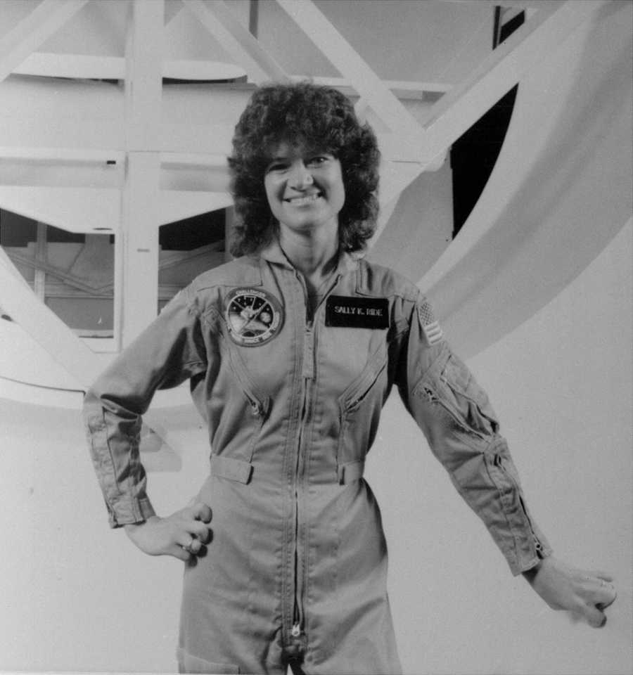 Sally Ride, the first American woman to go to space, was one of 8,000 people to answer an advertisement in a newspaper seeking applicants for the space program. At the end of her own obituary that she co-wrote with her partner, Tam O'Shaughnessy, they disclosed to the world their lesbian relationship of 27 years. (May 26, 1951 – July 23, 2012)