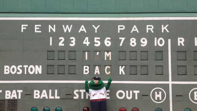 On July 27, 2012: Boston police put out a BOLO for Wally the Red Sox mascot, who was  missing from Fenway Park. The costume was later found to be with an employee who was not authorized.