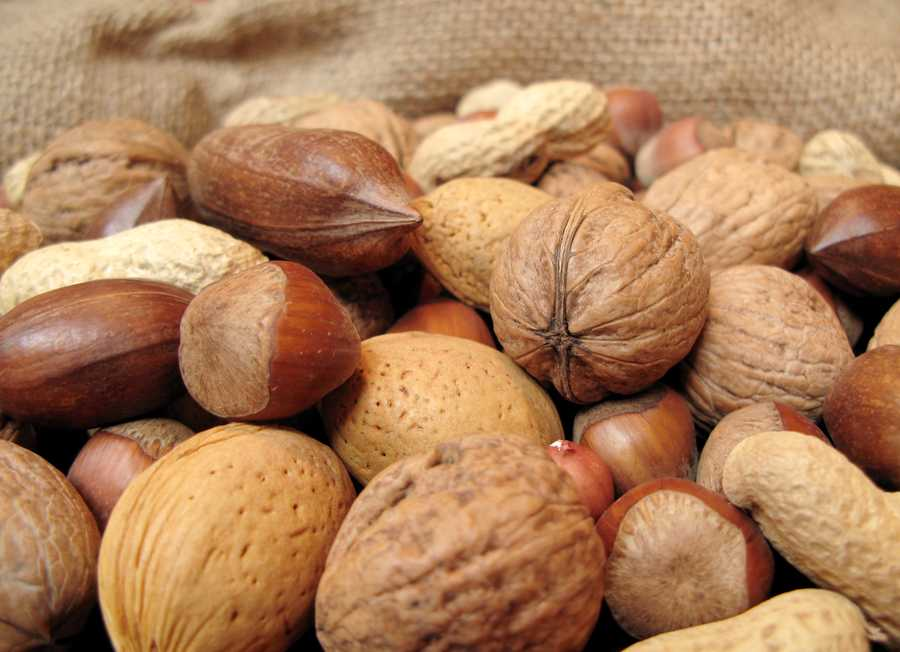 Get more vitamin E in your diet by eating almonds, hazelnuts, peanuts, spinach, and fortified cereals.