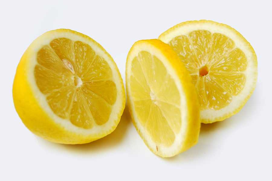 Lemons are also on the list.