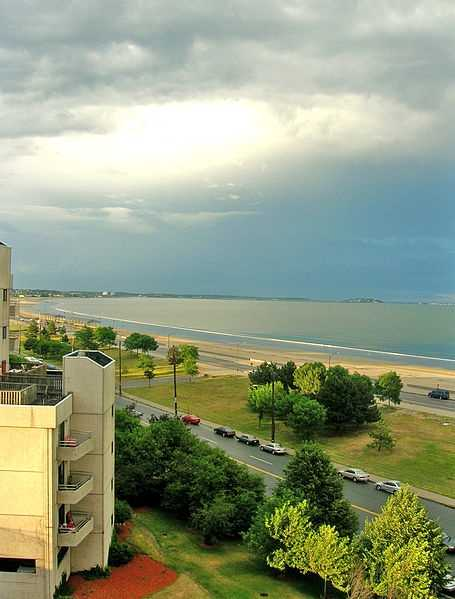 Revere Beach in a 2005 photograph