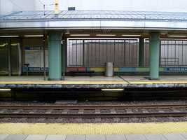 This is the MBTA station today.