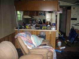 This is is the Florida trailer once occupied by Rodney Stanger, serving time in a Florida prison for killingCrystal Morrison.