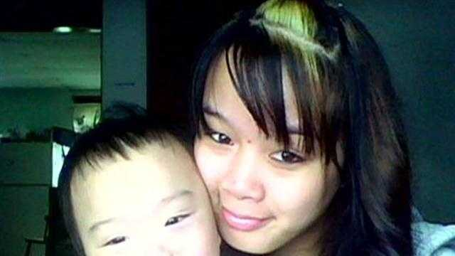 Nga Truong and her son