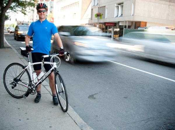 David Rothfarb is 1 of 30 plus Dana Farber Cancer Institute staffers riding in the PMC.