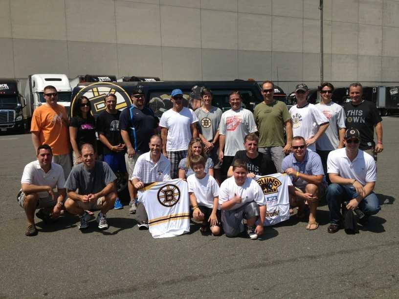 The Boston Bruins Foundation Team