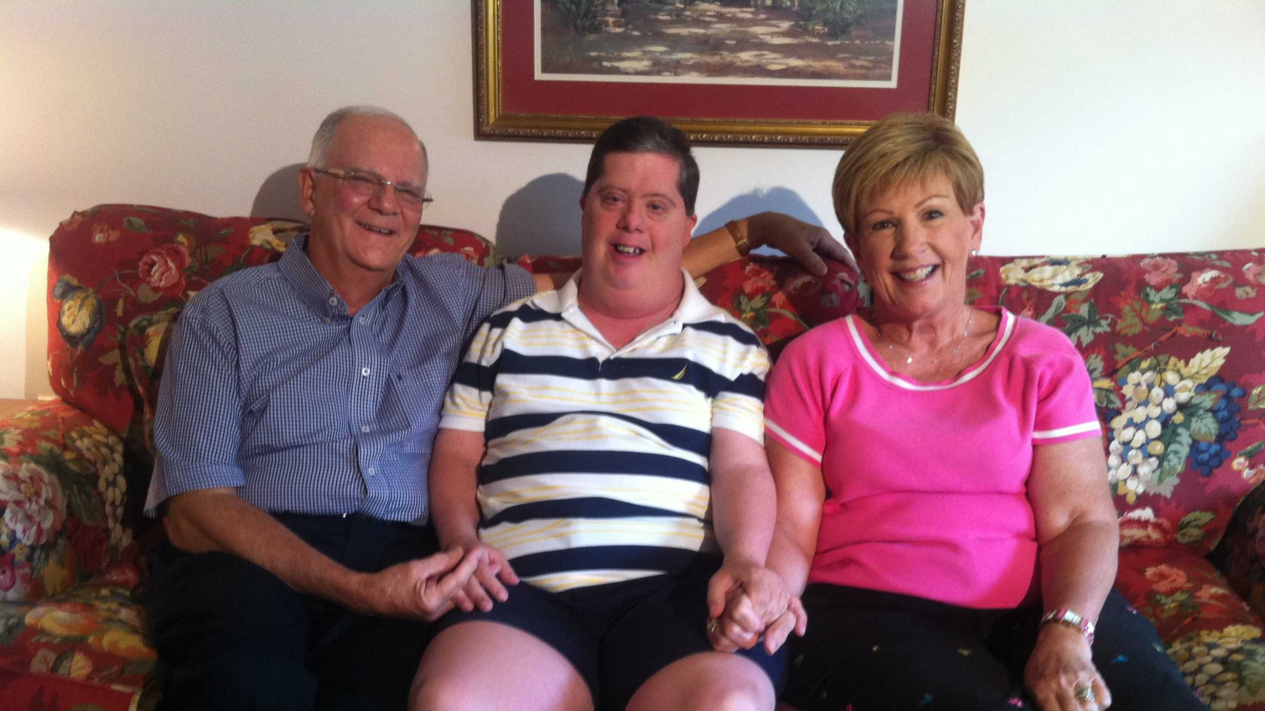 Mark Stanganelli with his parents Gerald & Beverly