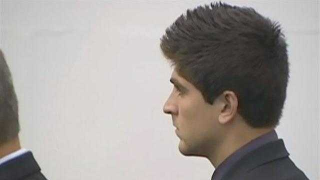 Corey Trivino in court