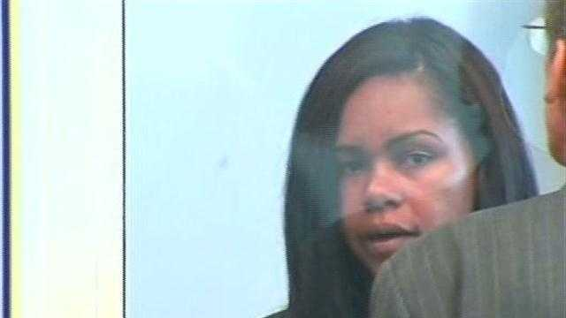 Lataria Milton in court