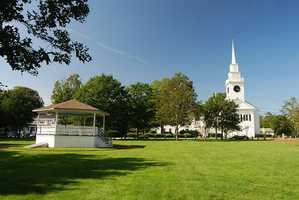 #18 (tie) East Bridgewater: There are 1,040 Class A LTC permits or 7.54% of the community according to state records.