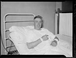 During the shootout Patrolman Scholley Lake was wounded in the hands and wrist.