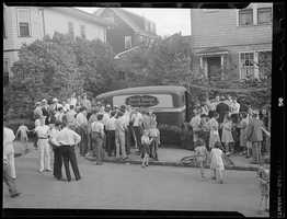 In August 1938, James Sullivan of Dorchester and his partner Harold Ananian of Roxbury robbed a Jordan Marsh payroll truck of $5,500.