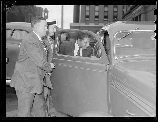 "During the 1930s, the Providence Board of Public Safety named Patriarca as ""Public enemy No. 1"". However, when Patriarca was sentenced to five years in prison for robbery, he was paroled in 1938 after serving just a few months in prison."