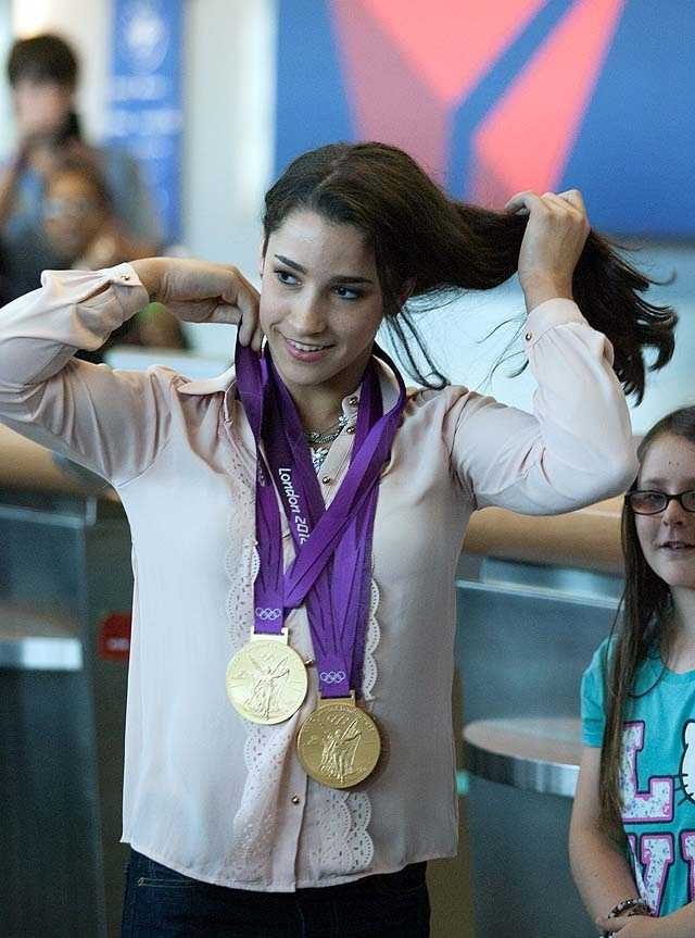 She'll be home for about a week before joining the Kellogg's Tour of Gymnastics Champions nationwide tour.