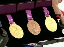 Aly's three medals