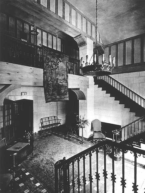 Palmer Memorial Lobby as it looked in the mid-1960's.