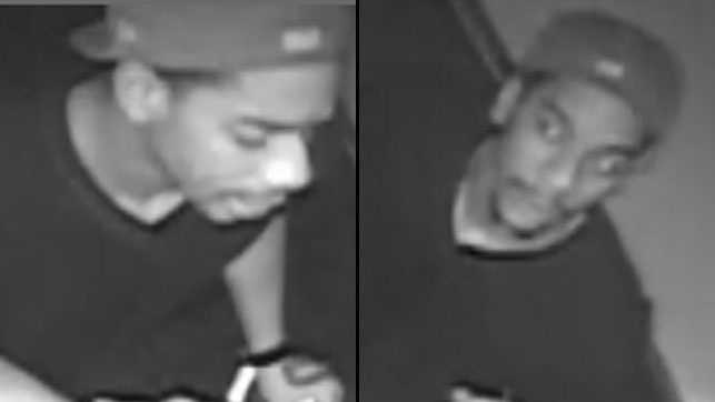 Lawrence police have released these images of a man who could be connected to a shooting that left a young girl injured.