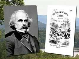 "It owes its name to Nathaniel Hawthorne who penned his ""Tanglewood Tales for Boys and Girls"" in a cottage here in 1850."