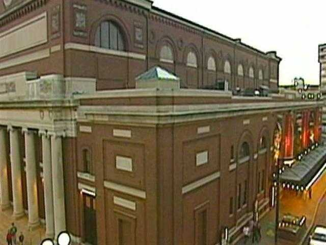 There is also a curious family connection. Williams' grandfather, a carpenter named David Towner, worked on the construction of Symphony Hall in the late 1800's.