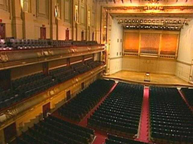 Williams calls it a magical space...one of the top 3 concert halls in the world.