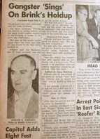 After years of failed attempts, the FBI finally got O'Keefe to admit his role in the robberyon January 6, 1956.