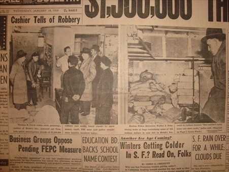 Historical Photos Boston S Great Brinks Robbery