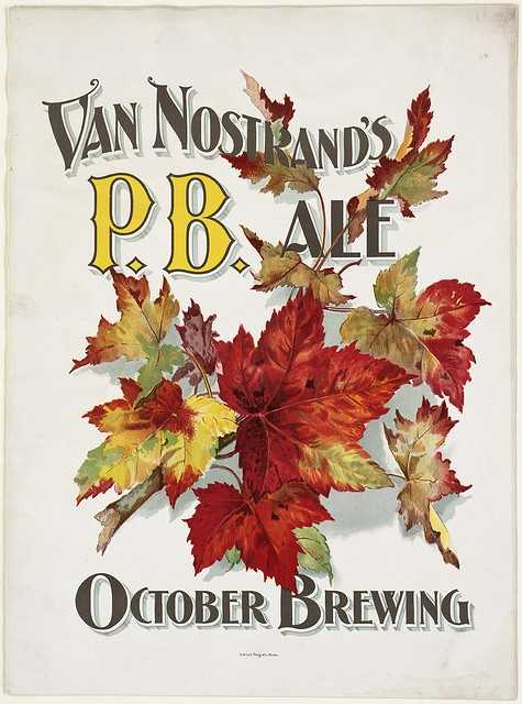 The Van Nostrand Brewery ran from 1821 - 1918 in Charlestown.  This advertising poster is from 1880.