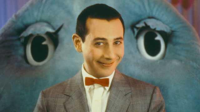 Paul Reubens as Pee-Wee Herman in Pee-wee's Playhouse