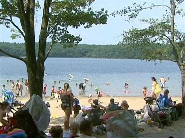 The safe capacity at Walden Pond is 1,000 people.