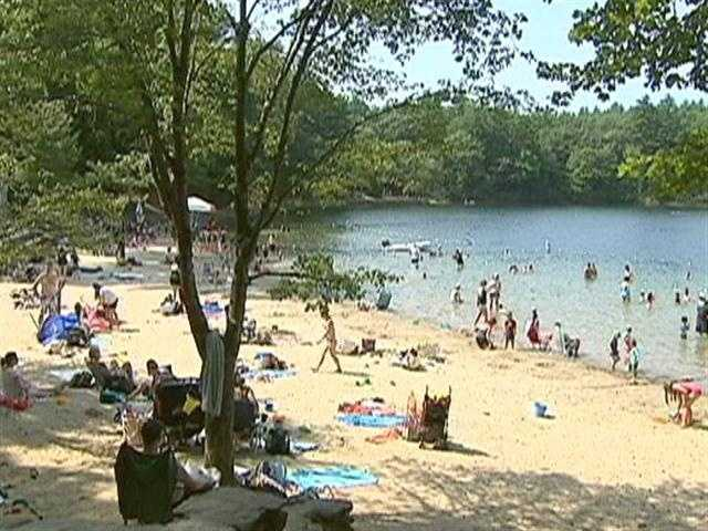 Walden Pond is, perhaps, the most famous, and best loved, little kettle hole, in the world.
