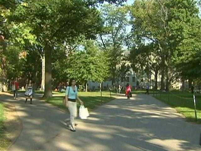 Welcome to historic, Cambridge, Massachusetts.