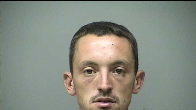 Michael Dargie was charged by Manchester Police with Forgery, Simple Assault, Receiving Stolen Property, Resisting Arrest