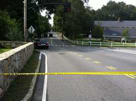 NewsCenter 5PhotojournalistDavid Mongeau took this photo from the scene of the crash on Weston Road.