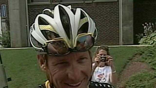 Lance Armstrong reaction