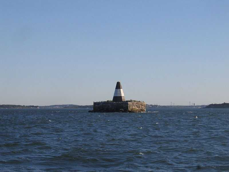 Nixes Mate is one of the smaller islands in the Boston Harbor Islands National Recreation Area.