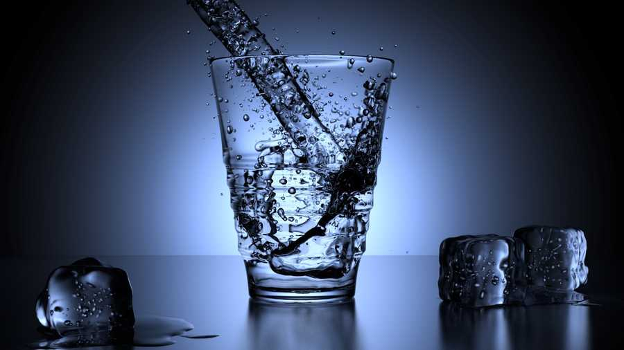 Drink lots of water to keep skin hydrated.