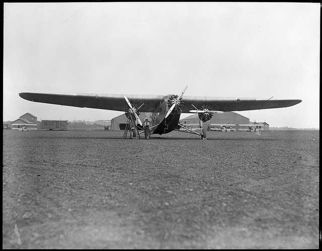 Colonial Air, a predecessor of American Airlines, begins the first regularly scheduled commercial passenger flights between Boston and New York in 1927.