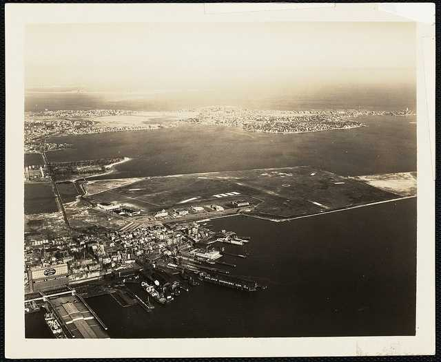 In 1934, the airfield was expanded from 189 acres to 400 acres.