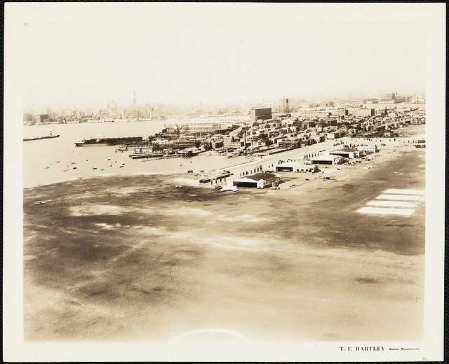 This is a view of the airfield in 1936.