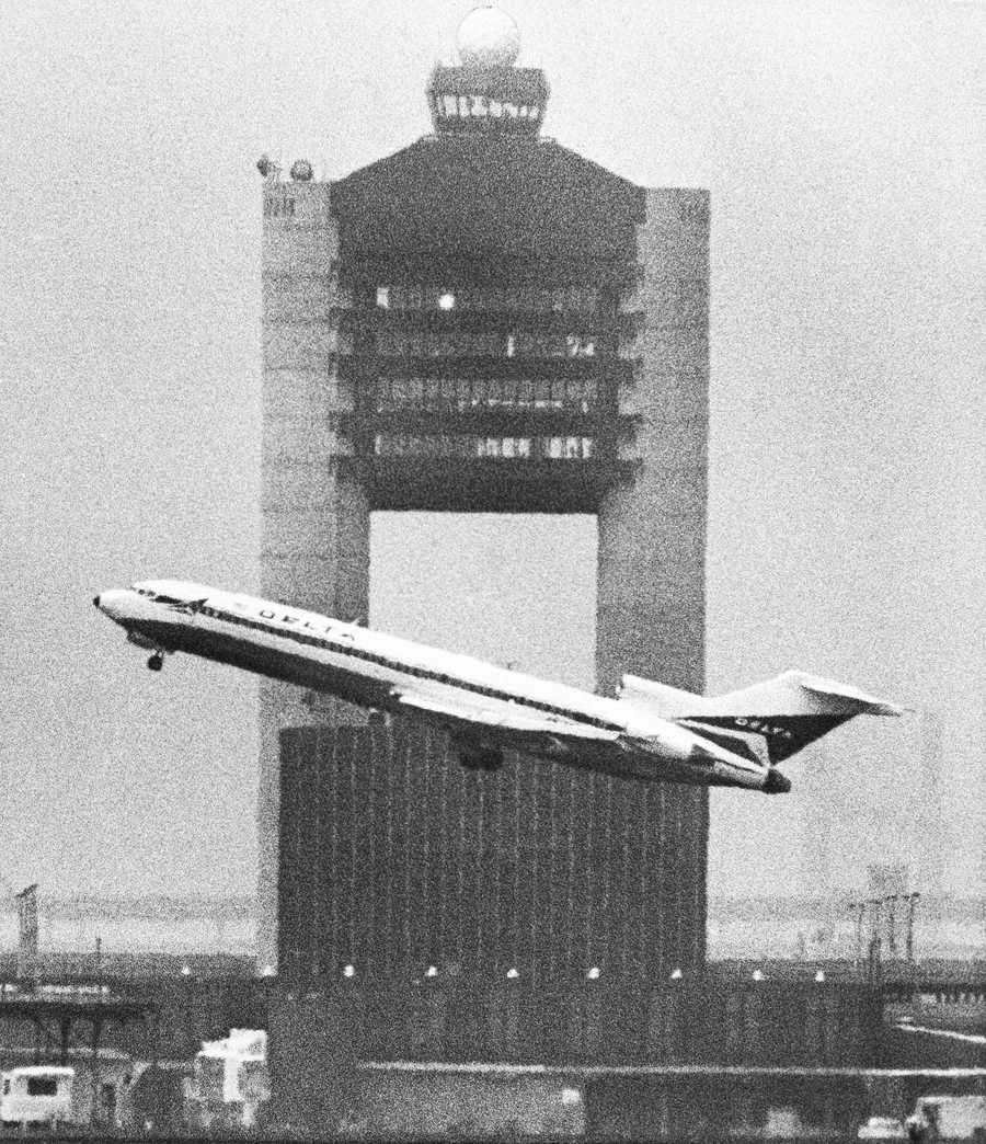 By 1980, 15.1m passengers fly in and out of Logan each year. Additional expansion in the 1980s includes the Logan Office Center, Southside cargo facilities, a new Hyatt Hotel and the Amelia Earhart General Aviation Terminal.