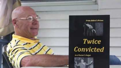 "Phil Cebula, who served time for manslaughter, talks about his religious beliefs and his new book ""Twice Convicted."""