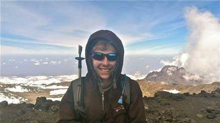 At 13 years old, Lexington's Ian Urban is one of the youngest people to summit Mount Kilimanjaro, which, at 19,341 feet, is the tallest mountain in Africa.