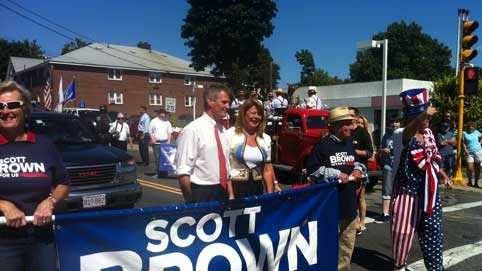 Scott Brown Labor Day parade