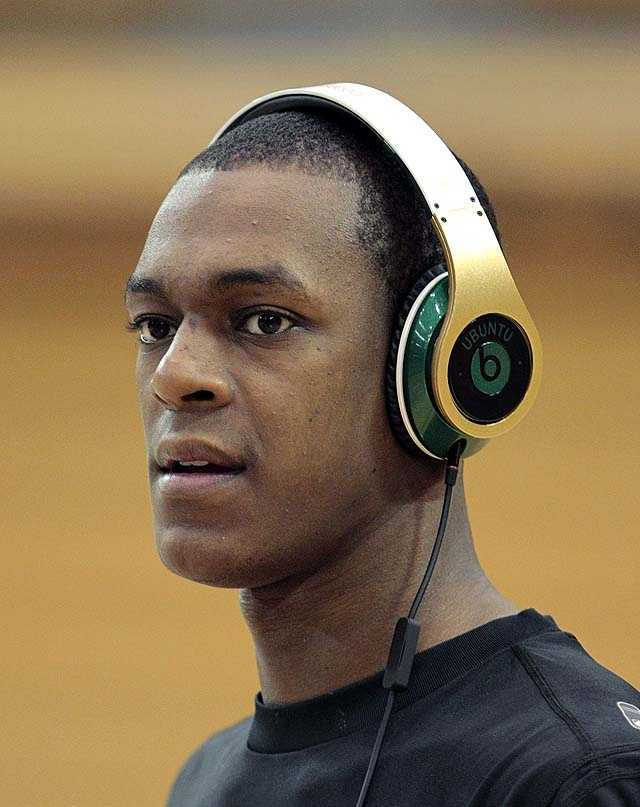 Rondo was first interested in football, before his mother pushed him towards basketball because she felt that the sport would be less punishing on his thin body.