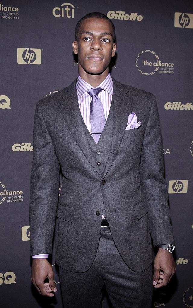 Rondo is 6 foot 1 inches tall and weighs about 186 pounds.