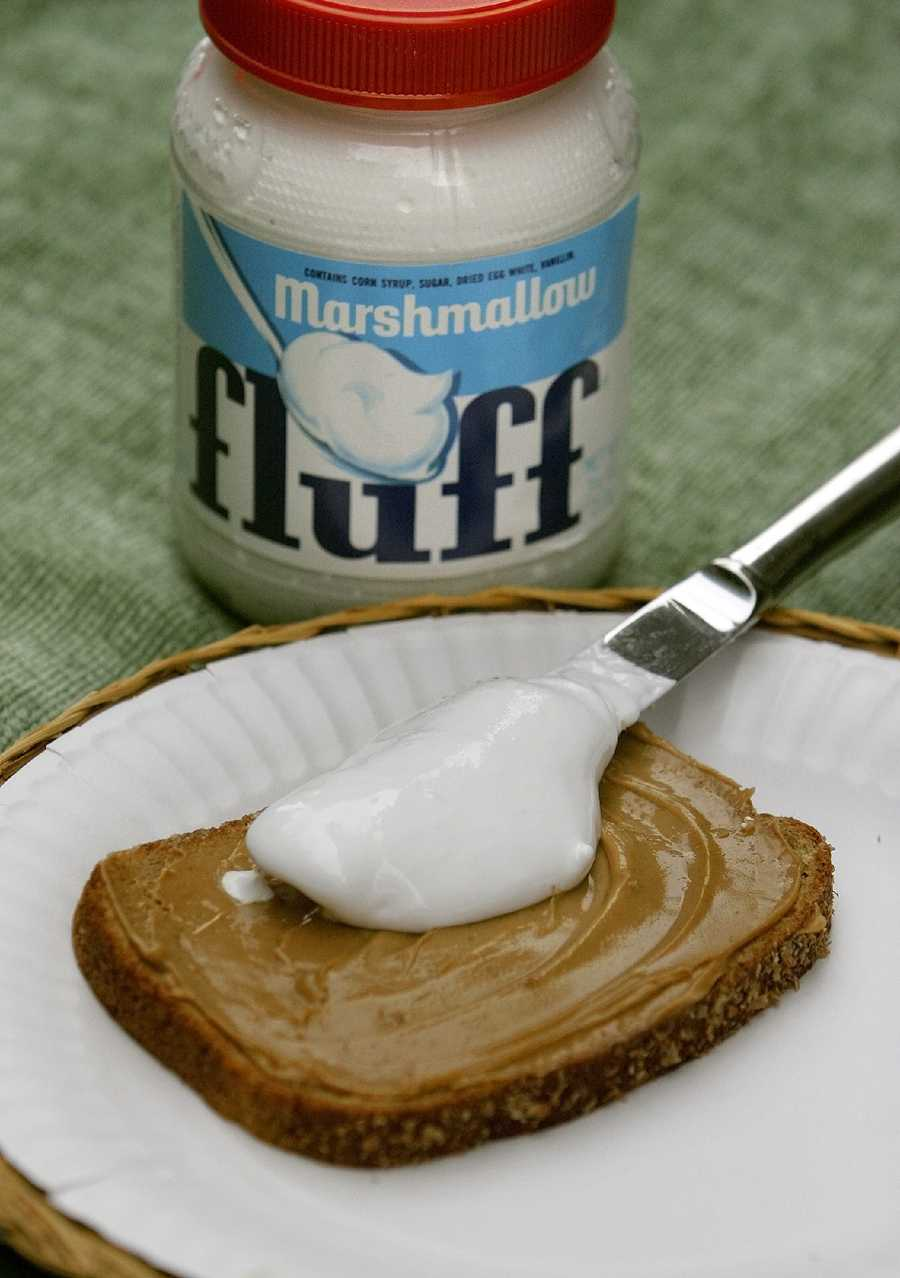 Marshmallow Fluff first hit the market in 1917.  It was invented in Somerville and first manufactured in Lynn.