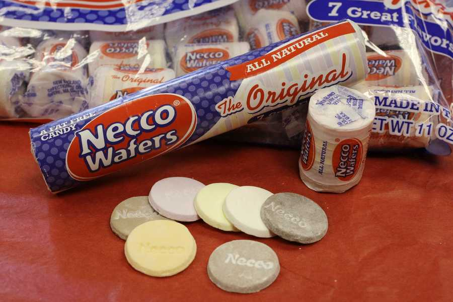 "The New England Confectionery Company (Necco) is considered the ""oldest continuously operating candy company in the United States.""  Its headquarters are located in Revere."