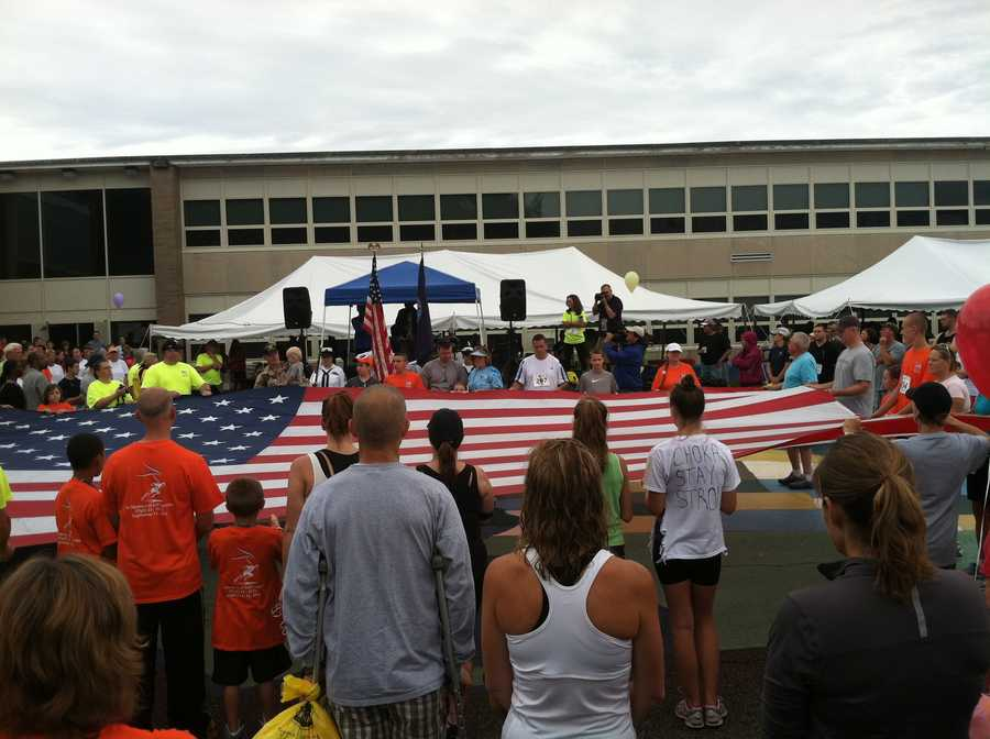 The annualRoad Race in memory of Abington resident Jeff Coombs who died on Sept. 11 was held Sunday.